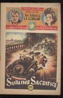 Fascicule Jeune France - Sublime Sacrifice - Henri D'Alzon - Editions Saint-Cyr - 1946 - Livres, BD, Revues