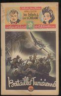 Fascicule Jeune France - Batailles Tunisiennes - Henri D'Alzon - Editions Saint-Cyr - 1948 - Livres, BD, Revues