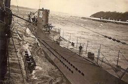 Photo Du U-BOAT 33 Ravitaillée En Mer En 39-45 - Guerre, Militaire