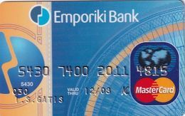 GREECE - Commercial Bank MasterCard(reverse ICA/Elektra), 09/05, Used - Geldkarten (Ablauf Min. 10 Jahre)