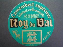 14185 - étiquette De Fromage - Camembert ROY DU VAL - VIRE - Calvados 14Q - Formaggio