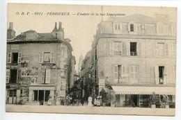 Périgueux L'entrée De La Rue Limogeanne (rare) - Périgueux