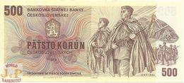 CZECHOSLOVAKIA 500 KORUN 1973 PICK 93 UNC - Czechoslovakia