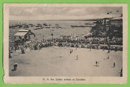 Zanzibar - H. H. The Sultan Arrives - Tanzania - England - Tanzania