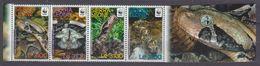 2011Sierra Leone5498-5501TabWWF / Reptiles - W.W.F.