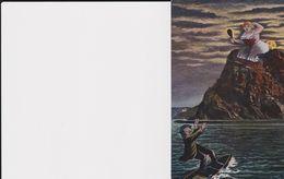 Postkaart Van De Rijn (karikatuur) - Koblenz