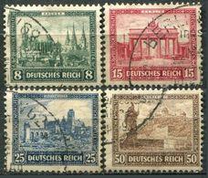 ALLEMAGNE - Y&T  N° 427-430 (o)...état LUXE - Deutschland