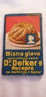 Very Old Small Book DR. OETKER RECEPTI MARIBOR Slovenia Slovenija - Libri, Riviste, Fumetti