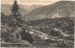 XW 3008 Lusevera (Udine) - Vedronza E Valle Del Torre - Panorama / Viaggiata 1950 - Altre Città
