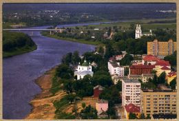 Postcard. Belarus. Europe. Polotsk. Bridge . River - Ponts