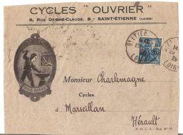 CYCLES OUVRIER SAINT ETIENNE - Publicités