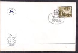 Israel - 1978 - Postmark Jerusalem - Special Cover - Third Pilgrimage To The Holyland - Cygnus - Israel