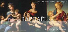 """SOUVENIR PHILATELIQUE De 2020 """"RAPHAËL - La Vierge De Lorette"""" Avec Son Encart - Bloques Souvenir"""