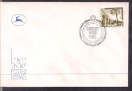Israel - 1978 - Postmark Jerusalem - Special Cover - Christmas - Nöel - Cygnus - Israel