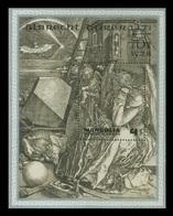 Mongolia 1978 Mih. 1184 (Bl.56) Melencolia I. Engraving By Albrecht Durer MNH ** - Mongolie