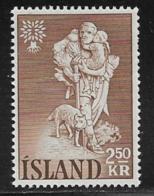 Iceland Scott # 325 MNH Refugee Year, 1960 - 1944-... Republic