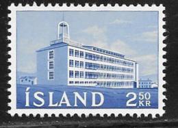 Iceland Scott # 345 MNH Production Institute, 1962 - 1944-... Republic
