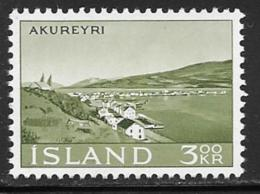 Iceland Scott # 356 MNH Akureyri, 1963 - 1944-... Republic