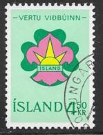 Iceland Scott # 361 Used Scout Emblem, 1964 - 1944-... Republic