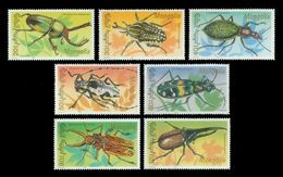 Mongolia 1991 Mih. 2277/83 Fauna. Beetles MNH ** - Mongolie