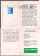 Argentina - 1972 - Dépliant Philatéliques - Journée Mondiale De La Santé - Cygnus - Maladies