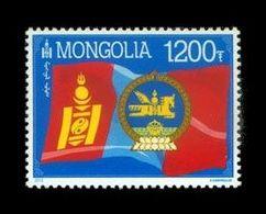 Mongolia 2012 Mih. 3862 State Symbols. Flag And Arms MNH ** - Mongolie