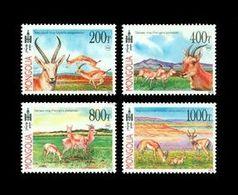Mongolia 2013 Mih. 3865/68 Fauna. Goitered Gazelles MNH ** - Mongolie