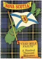 Greetings From Nova Scotia With Tartan & Flag, Canada - Unused - See Notes - Nova Scotia