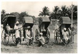 (C 3) Very Old - Ceylon / Sri Lanka - Rickshaws - Taxis & Fiacres