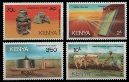 Kenia 1985 - Mi-Nr. 318-321 ** - MNH - Energiesparen - Kenya (1963-...)