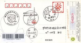 China 2020 Zhejiang Hangzhou Fight Epidemic(Covid-19) Entired Postal Card A - China
