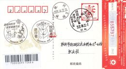 China 2020 Zhejiang Hangzhou Fight Epidemic(Covid-19) Entired Postal Card D - China