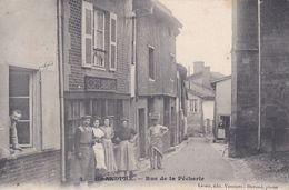 GRANDPRE - Rue De La Pêcherie ,renseignez-vous Carte Vraiment RARE - Francia