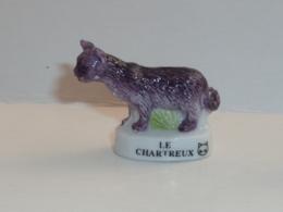FEVE LES CHATS, LE CHARTREUX, Tête De Chat - Animaux