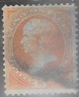 US  1870  Sc#152  15c Used  2016 Scott Value $220 - 1847-99 General Issues
