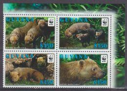 2011Guyana8194-8197VBWWF / Fauna - W.W.F.