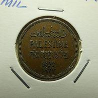 Palestine 1 Mil 1927 - Autres – Asie
