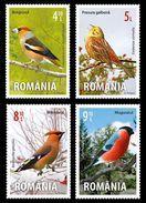 Romania 2015 / Songbirds / Set 4 Stamps - Songbirds & Tree Dwellers