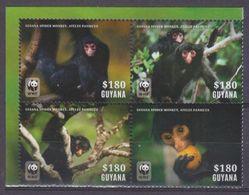 2014Guyana8816-8819VBWWF / Fauna8,80 € - W.W.F.