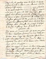 2 Cachet Généralité D' Alençon 1792 Sur Papier Manuscrit - Cachets Généralité