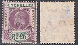 E0087 SEYCHELLES 1906, SG 71, KEVII R2,25 Definitive, Used - Seychelles (...-1976)