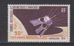 1966-TAAF -P.A. N°12** SATELLITE D1 - Airmail
