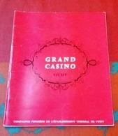Programme Théâtre Du Grand Casino Vichy Saison 1965 La Vie Parisienne Offenbach Dominique Tirnont Suzanne Sorano - Programmes
