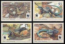2008St Lucia1275-1278WWF / Reptiles10,50 € - W.W.F.