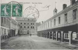 SAINT-LAURENT-EN-CAUX - RUE DES HALLES - BIEN ANIMEE - 1915 - France
