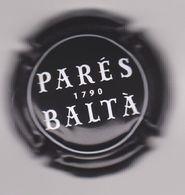 Capsule Mousseux ( PARES BALTA 1790 , Noir Et Blanc ) {S28-20} - Placas De Cava