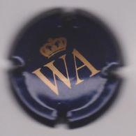 Capsule Mousseux ( WA + Couronne , Bleu-noir Et Or ) {S28-20} - Placas De Cava