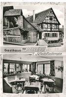 """2CPM GF (lot)- Allemagne -Kiechlinsbergen ( Endingen) -Gasthaus  """"Zur Stube""""zu Verschieden Zeiten -Envoi Gratuit - Endingen"""