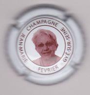 Capsule Champagne FEVRIER Jean-Marie ( 35d ; Portrait Femme ) {S28-20} - Sin Clasificación