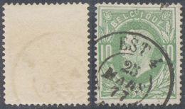 """émission 1869 - N°30 Obl Double Cercle Ambulant """"Est 4"""" / COBA : 15 - 1869-1883 Leopold II"""